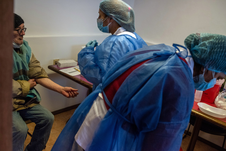 Vacunación contra el covid - 19 destinada a personas en situación de calle