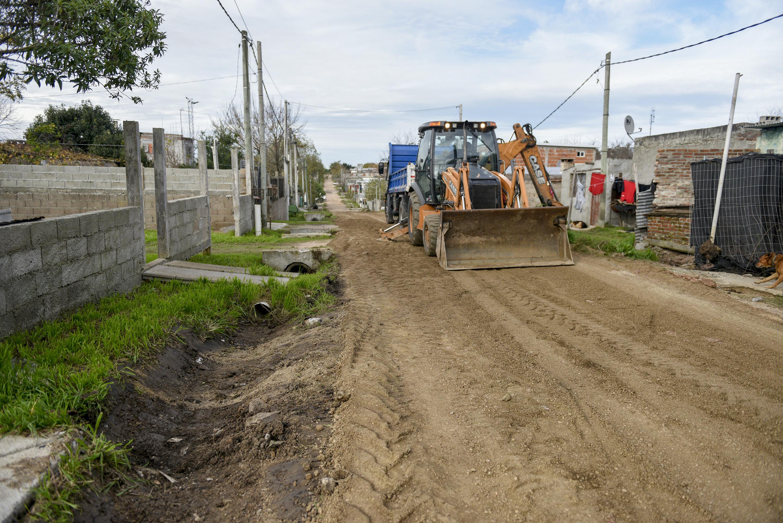 Obras por Plan ABC en barrio Capra 2