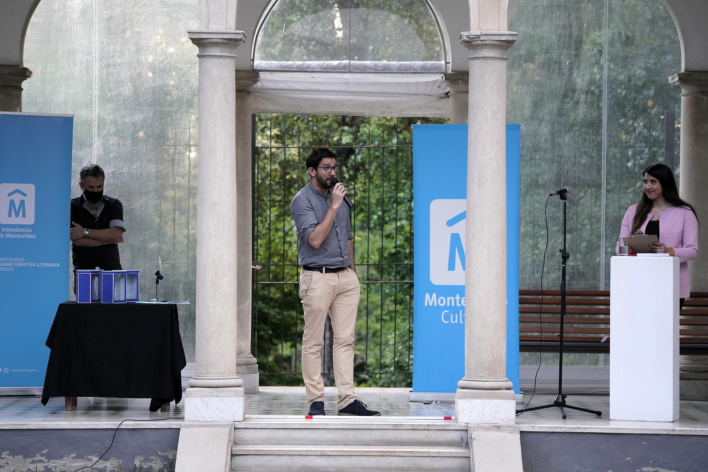 Entrega de premios del concurso literario Juan Carlos Onetti