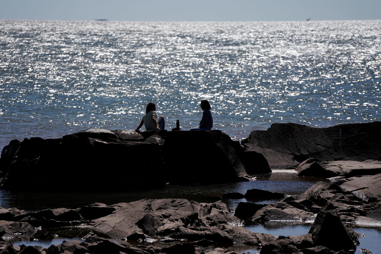 Costa de Montevideo en el Parque Rodó