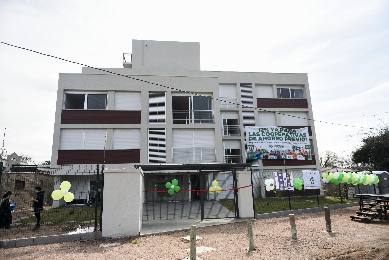 Inauguración de Cooperativa de Viviendas COVIPRADA