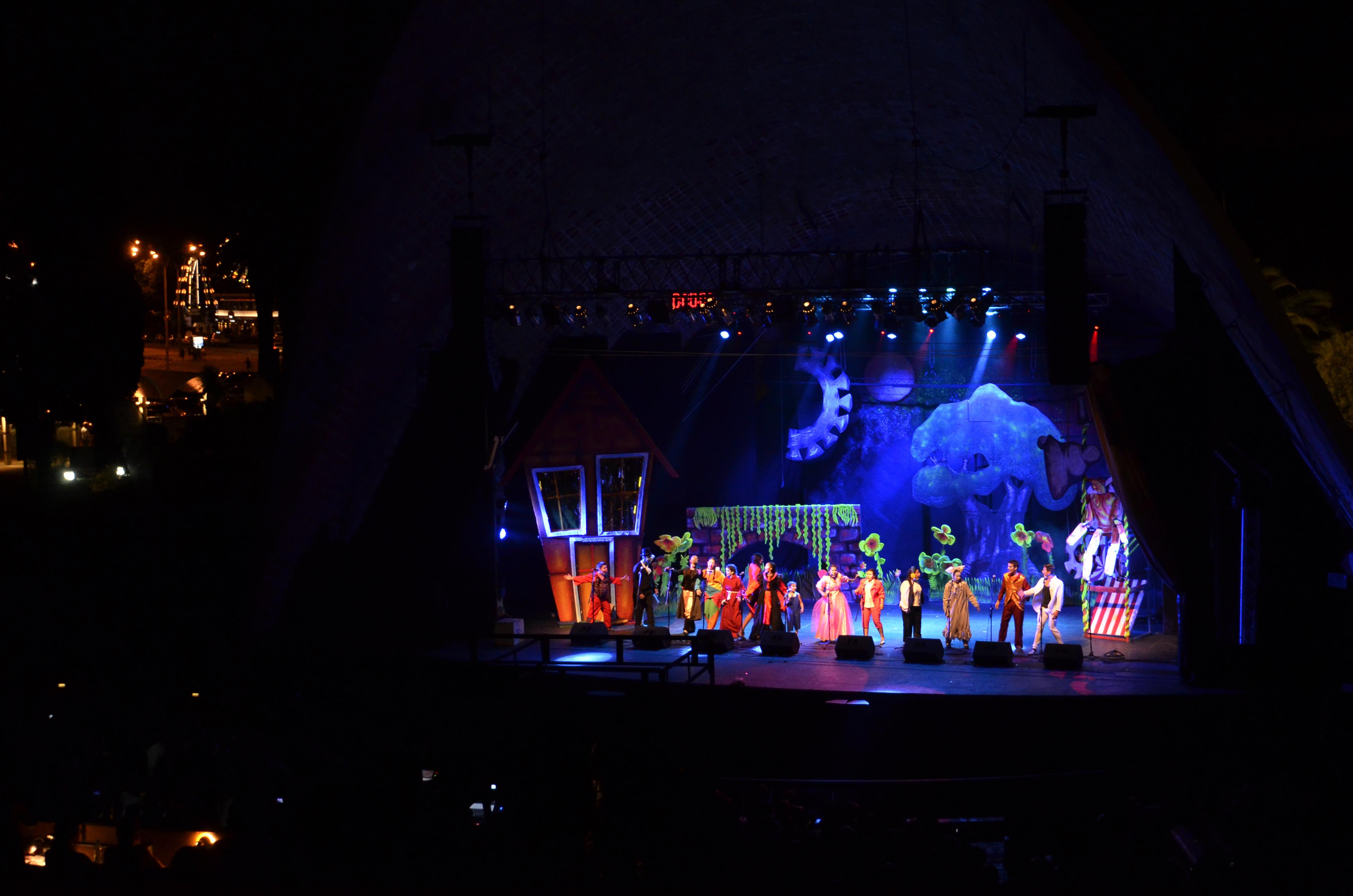 Carnaval en el Teatro de Verano