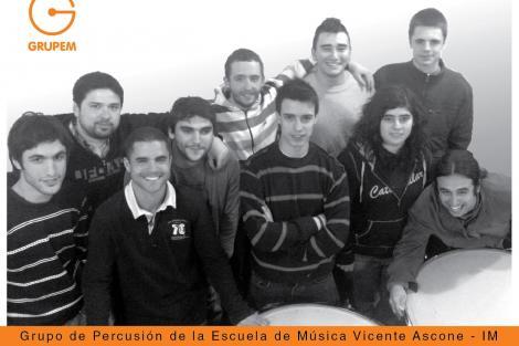 Grupo de percusión_Escuela de Música
