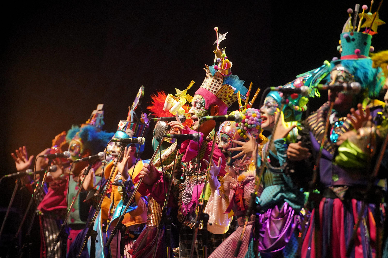 Murga Agarrate Catalina en el Teatro de Verano