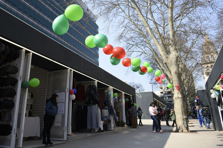 Inauguración de paseo de compras Techitos Verdes