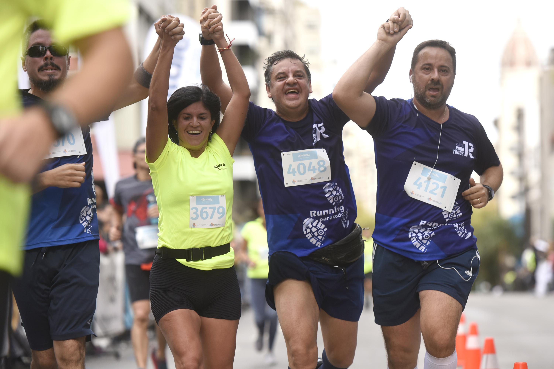 Corredores en la Maraton de Montevideo