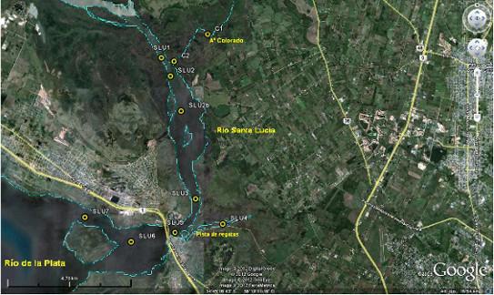 Estaciones de monitoreo de cursos de agua