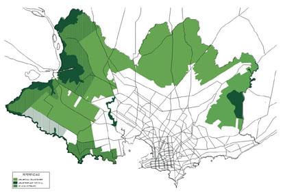 Suelo rural, urbano y suburbano