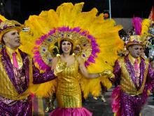 Desfile inaugural de carnaval 2015