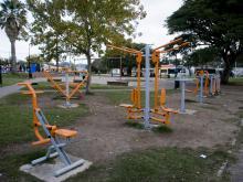 Equipamientos Saludables.Plaza Villa Prosperidad. Cno Maldonado y Cno Repetto