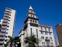 Instituto Profílactico de la Sífilis. Consejo Nacional de Higiene – sede del Ministerio de Salud Pública. Av. 18 de Julio 1892, esq. Dr. Juan A. Rodríguez. Bien de Interés Municipal desde 1995.