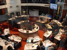 Balance Ana Olivera en Junta Departamental
