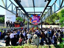 Inauguración del Parque de la Amistad