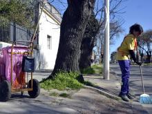 Barrido otoñal 2014. programa para mujeres jefas de hogares.