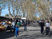 Feria vecinal. Peñarol.