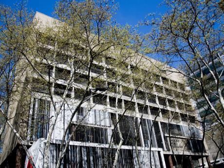 CASMU Sanatorio Dr. Carlos Maria Fosalba. Colonia 1936-42, esq. Arenal Grande.  Monumento Historico Nacional desde 1998.