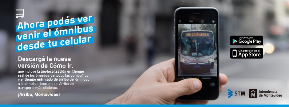 App para celulares: Cómo ir