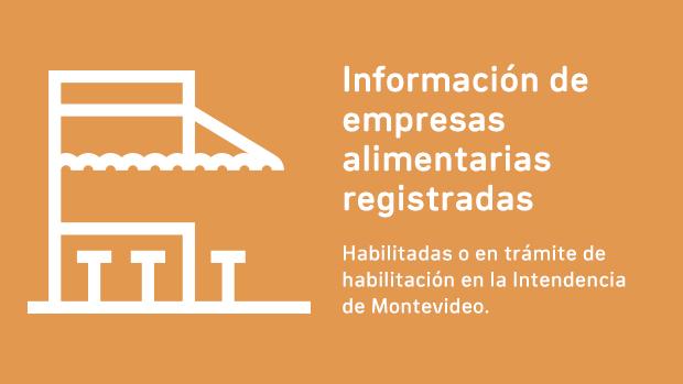 Información de empresas alimentarias registradas