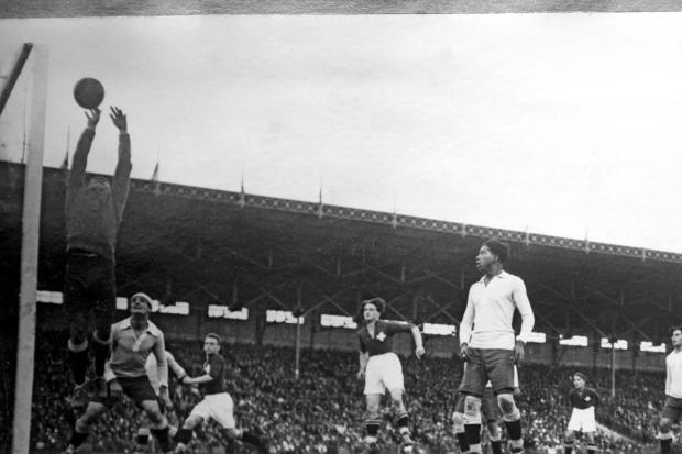 Imagen de la final olímpica de fútbol de 1924