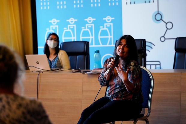 Presentación de plan de emergencia a organizaciones feministas