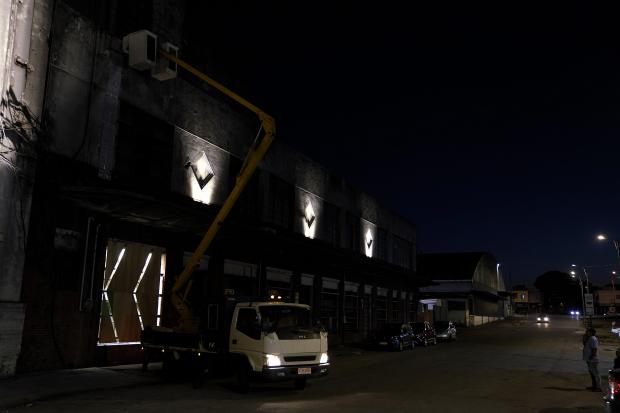 Iluminación del Mercado Modelo