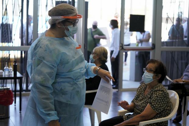Inicio de vacunación por Covid-19 en Policlínica de Paso de la Arena