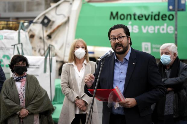 Presentación del nuevo equipamiento de Montevideo más verde