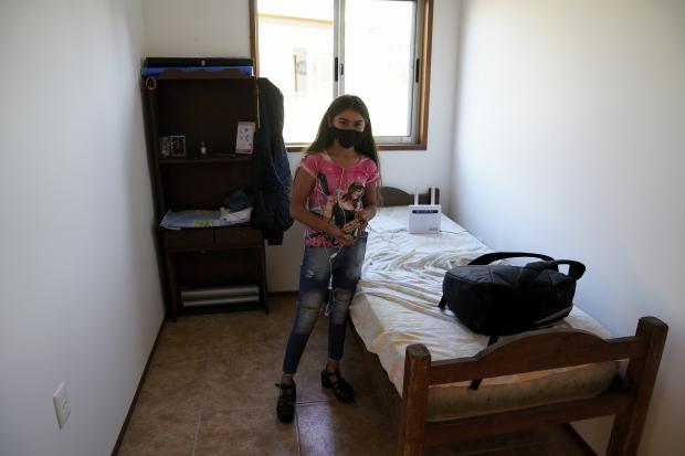 Entrega de viviendas en barrio La Boyada