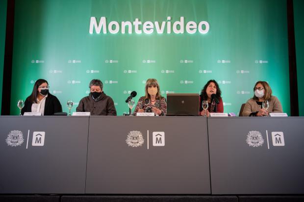Conferencia de prensa sobre Género