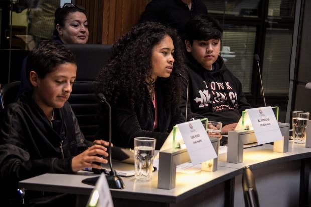 Parlamento de niños, niñas y adolescentes