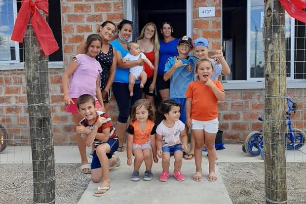 Tercera entrega de viviendas para realojos del proyecto Cauceglia