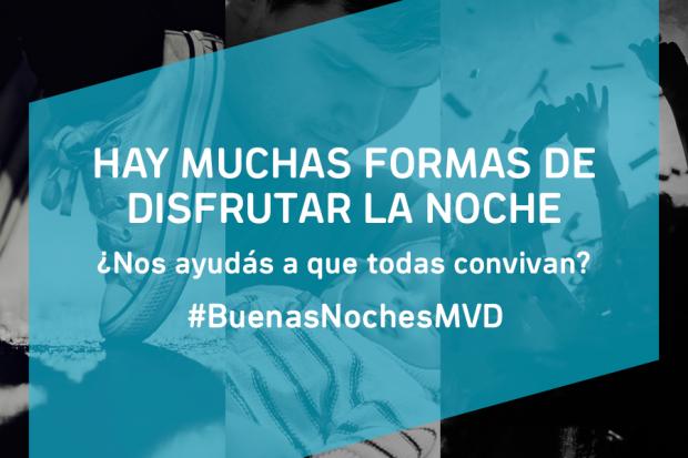 Campaña en Montevideo sobre la Convivencia Nocturna