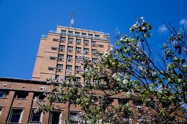 Palacio Municipal. Edificio Sede Intendencia de Montevideo.