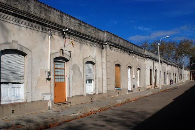 Antiguas viviendas de obreros ferroviarios