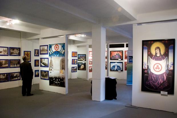 Museo de las Migraciones. Muralla abierta.
