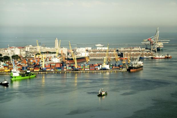 Vista de la ciudad desde la Torre de las Telecomunicaciones. ANTEL.