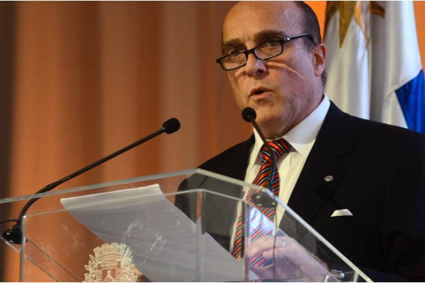 Asunción de Daniel Martínez como intendente de Montevideo
