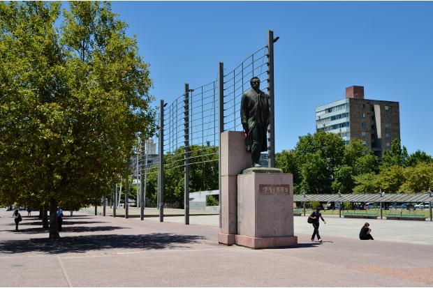 Plaza 1 de mayo.