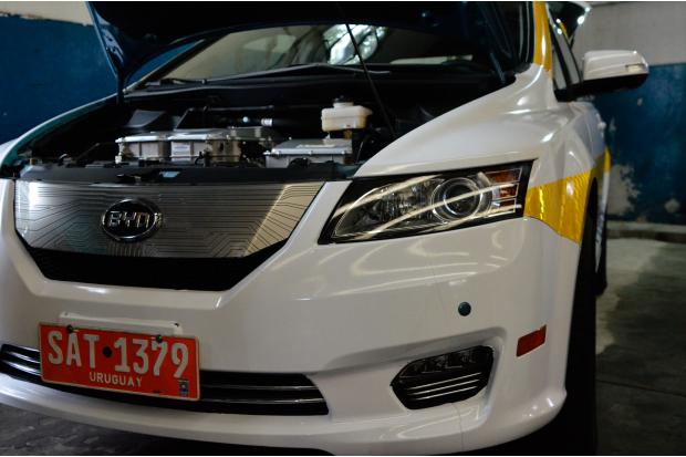 Presentación taxi eléctrico.