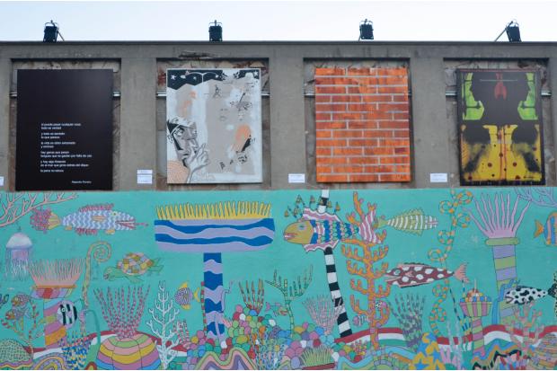 inauguracion de la muestra de murales Dique Maúa. galeria a cielo abierto