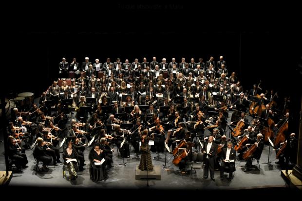 Concierto de la Orquesta Filarmónica de Montevideo, temporada de ópera 2017, Réquiem de Verdi.