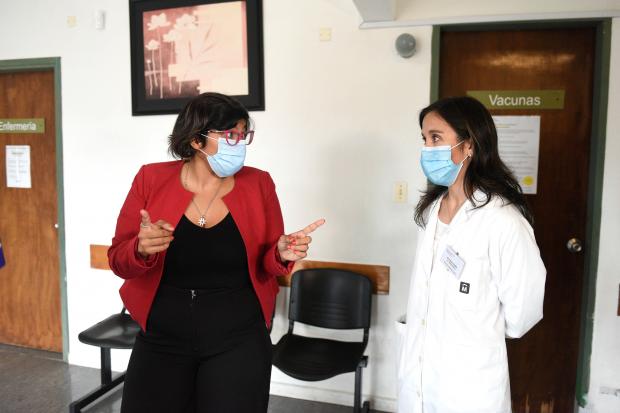 Hisopados en Policlínica Aquiles Lanza