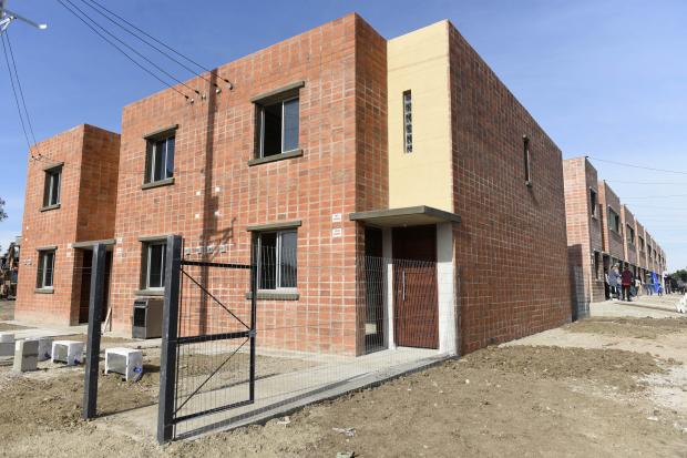 Inauguración de viviendas «Brazos Unidos»