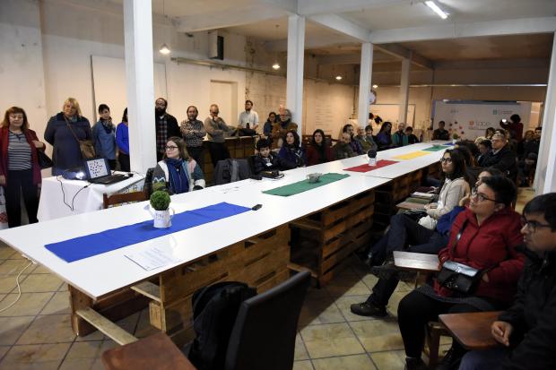 Primera reunión de trabajo de ENLACE, el primer cowork público.