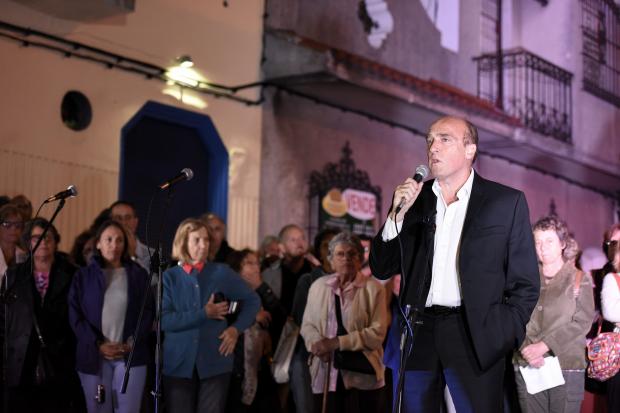 Inauguración de placa de la memoria en la ex-cárcel de Cabildo.