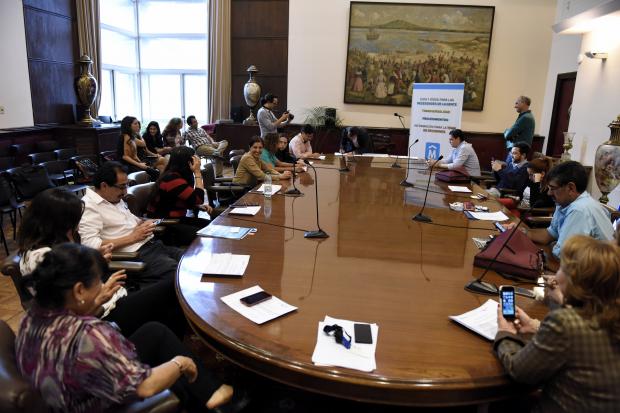 Reunión del comité sectorial de participación ciudadana.