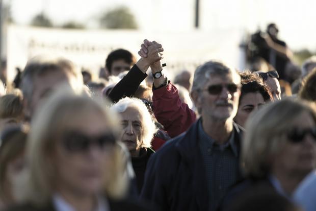 Inauguración del memorial a los presos políticos del Penal de Libertad