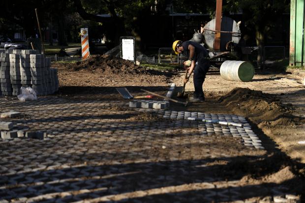 Recorrida por obras en Plazas