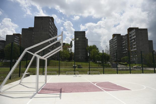 Espacio Polideportivo en Parque de la Juventud