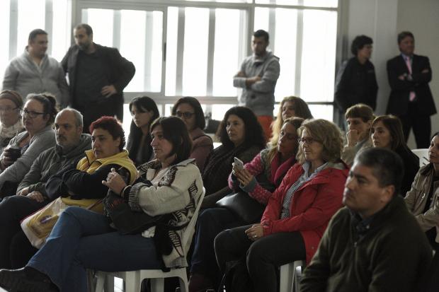Inauguracion de la Comuna Mujer en el Intercambiador Belloni
